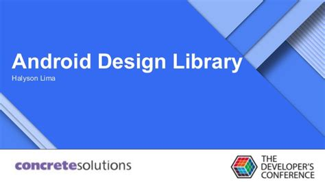 android ui pattern library android design library tdc 2015