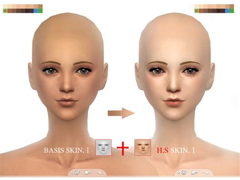 sims 4 skin wmll sims 4 bassis skintones i by s club at tsr 187 sims 4
