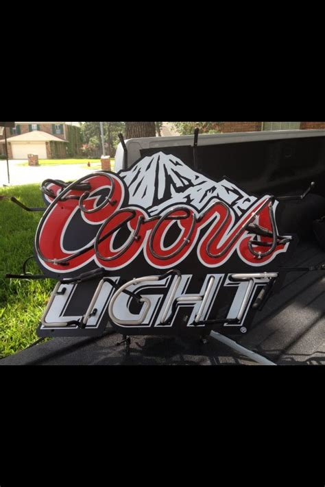 coors light beer sign 27 best all things coors light images on pinterest