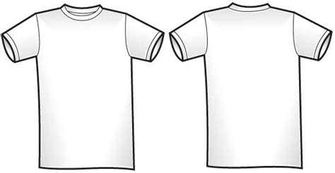 t shirt template vector free vector for free download