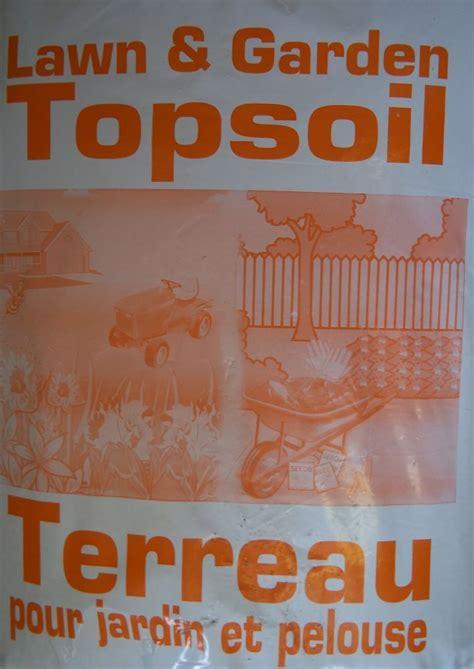 top soil lawn garden top soil  home depot canada