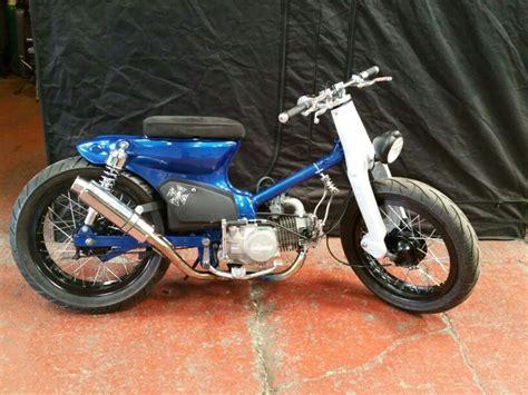 Lu Senja Honda C50 C70 C90 streetcub chopper bobber honda cub c70 c90 c50 custom motorcycles honda cub