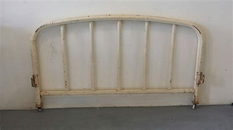 white iron headboard full 19th century french provincial white iron bed full size
