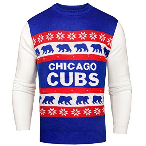 Sale Ht1282 32 Baseball Sweater chicago cubs sweater cubs sweater