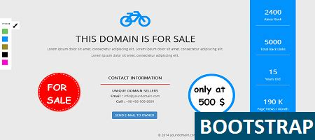 Free Domain Selling Template Get It Now Domain Landing Page Template