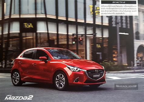 mazda 2 2017 usa 2017 mazda 2 facelift goes official in thailand gvc now