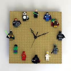 Cool Things To Put On Your Desk Diy Lego Clock Customizable Quick Easy Our Nerd Home