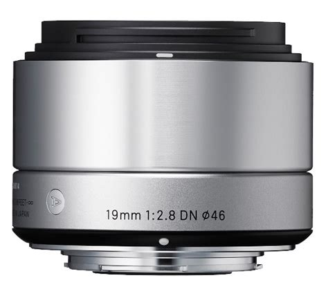 Sigma 19mm F2 8 Dn For Sony Silver cameraland sigma 19mm f2 8 dn lens sony e fit silver