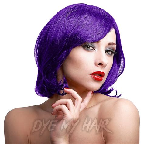 purple permanent hair color stargazer plume purple hair dye violet eggplant semi