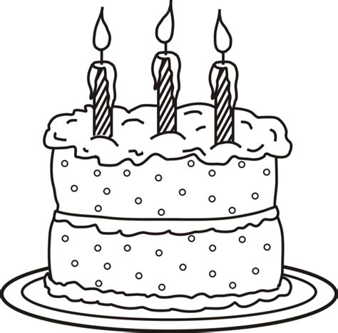 coloring page for birthday cake birthday cake coloring pages with candle and no candle