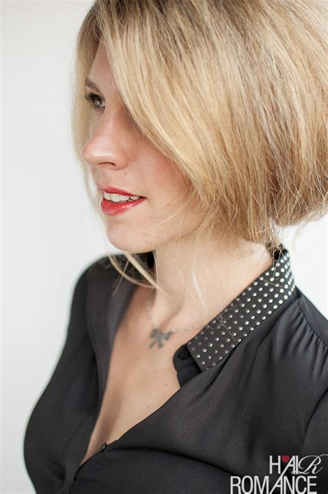 bob hairstyles tutorial faux bob hairstyle tutorial try out short hair before