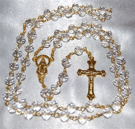 rosary for sale for sale clear bead our of heaven rosary