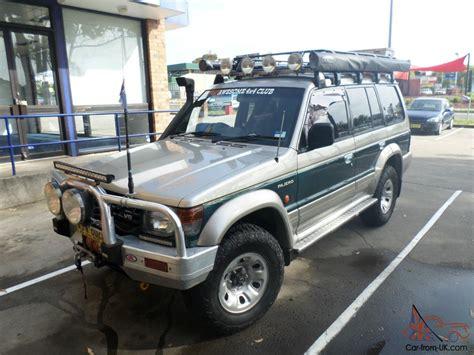 mitsubishi pajero 1997 mitsubishi pajero gls lwb 4x4 1997 4d wagon 4 sp automatic