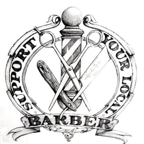 barber tattoo logo 128 best images about barbershop quotes signs slogans