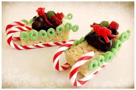 christmas time snacks sleigh snacks food idea snacks sleigh treats snacks