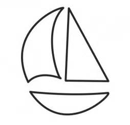 simple boat template make a mini sail boat embroidery with a mini hoop and felt