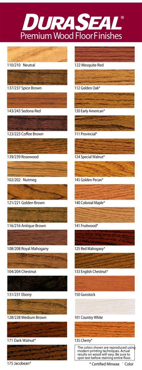 Duraseal Premium Wood Floor Finishes Colors   Carpet