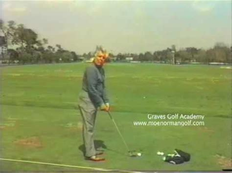 moe norman golf swing slow motion new moe norman video from graves golf academy golf