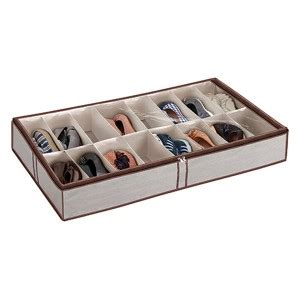 bed shoe storage ikea simple 16 pair bed shoe organizer with grey fabric