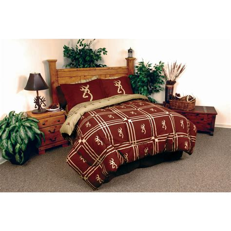 browning bedding set browning home and lodge complete bedding set 231688