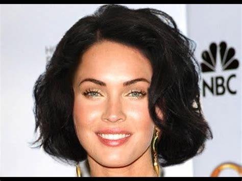 fox women hair megan fox debuts short hair youtube