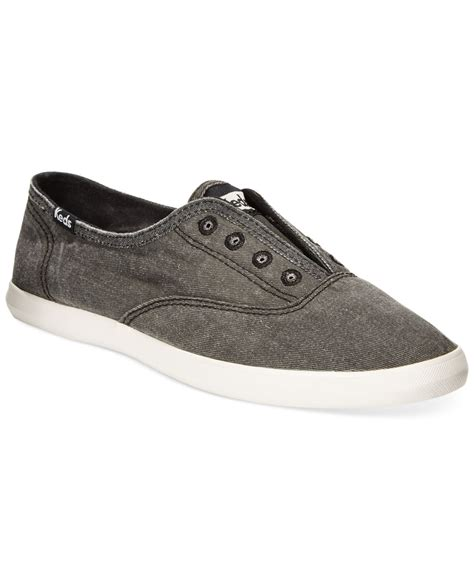 s laceless sneakers keds s chillax laceless sneakers in gray charcoal