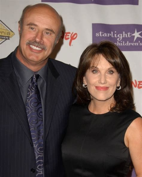 has anyone seen robin mcgraw dr phils wife recently dr phil mcgraw