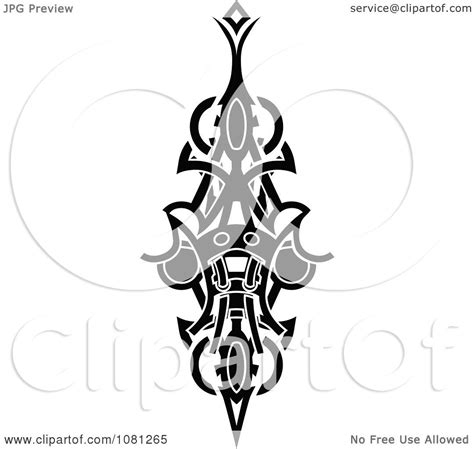 black and white tribal tattoos clipart black and white tribal design element
