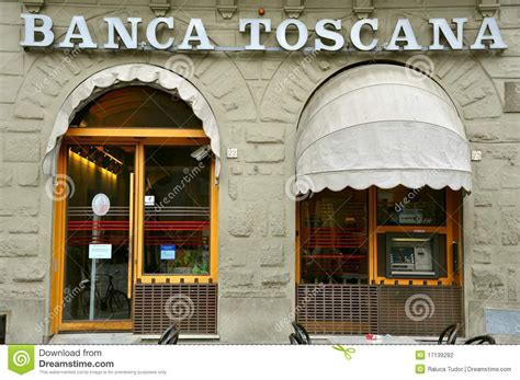 toscana banking italian bank in tuscany editorial photography image of