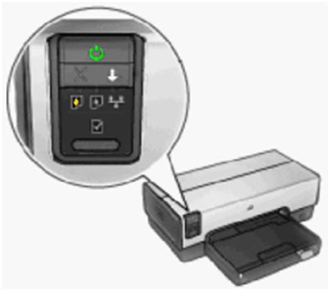 blinking lights on the hp deskjet 6940 6940dt and 6943 printer series hp 174 customer support
