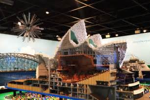 lego sydney opera house lego exhibition sydney opera house cross section abc news australian broadcasting