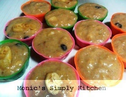 cara membuat puding pisang kukus puding kukus pisang kismis praktis monic s simply kitchen