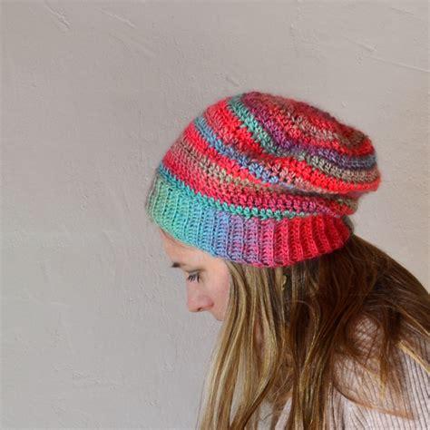 crochet easy hat for women tutorial 10 part 1 of 2 21 slouchy beanie crochet patterns for beginners