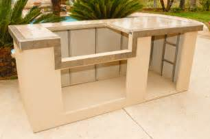 prefab outdoor kitchen island outdoor kitchen and bbq island kit photo gallery oxbox
