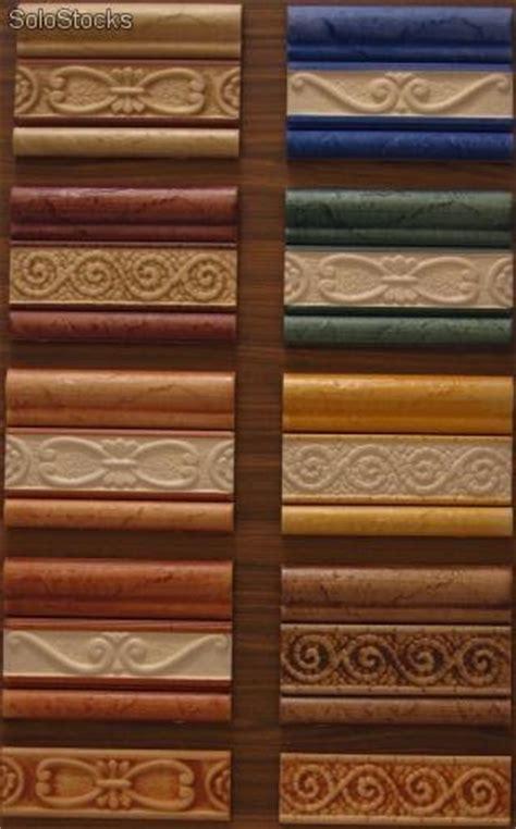 cenefas gres azulejo cenefa moldura y listelo de gres decorado a mano
