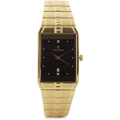 titan 9151ym05a gold analog price in india with