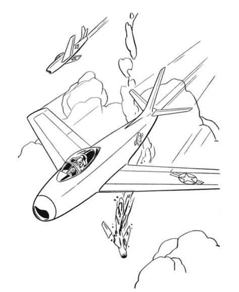 coloring page jet free printable airplane coloring pages for