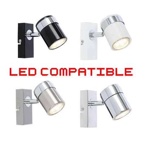 single led ceiling or wall spotlight spot lights fittings