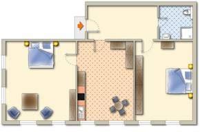 wohnung 60 m2 grundriss ferienwohnungen in schwangau hohenadl ferienwohnung 7