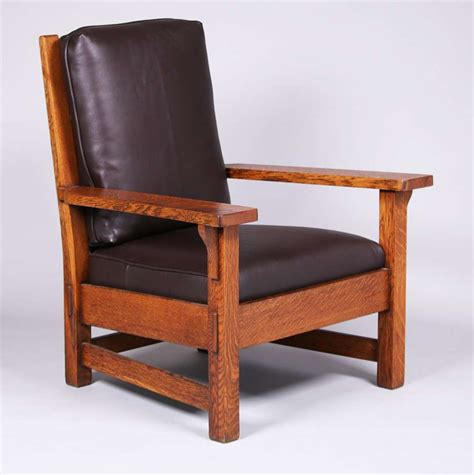 stickley armchair massive stickley brothers armchair with through tenon