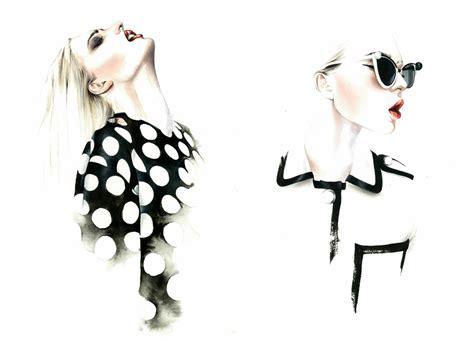 Wardrobe Illustration by Ant 243 Nio Soares Fashion Illustrations Trendland
