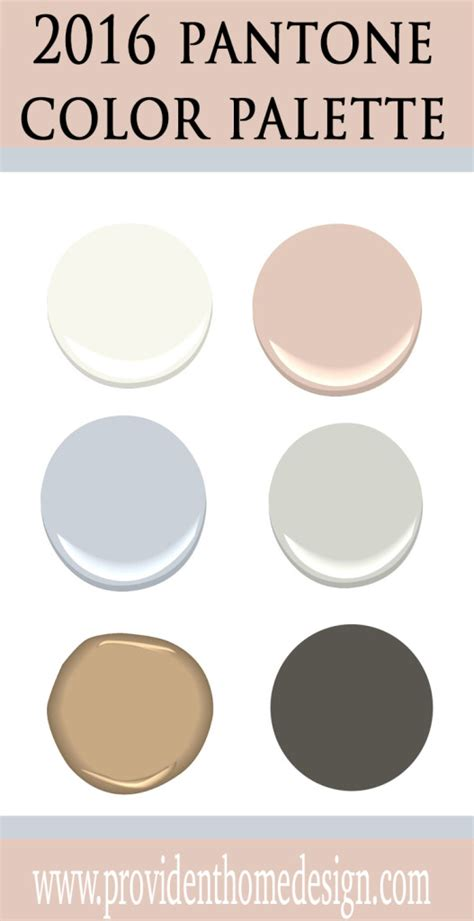 color palette 2016 pantone s 2016 color of the year provident home design