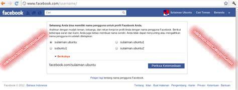 membuat username facebook sulaiman blog cara membuat alamat facebook sendiri