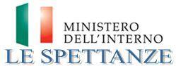 ministero interno spettanze siti istituzionali