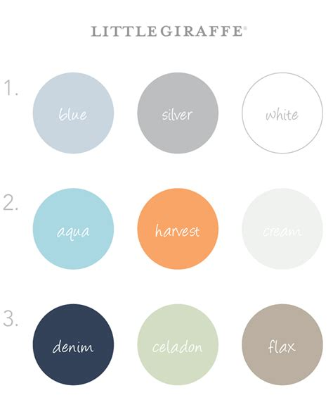 boy colors color schemes for baby boy