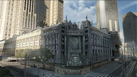 modern city final fantasy xv s modern city artwork showcased during