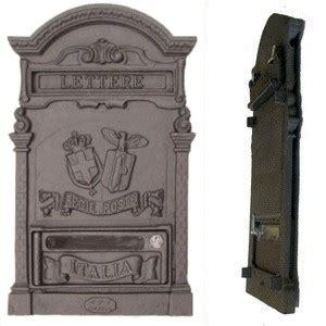 cassette postali antiche cassetta per lettere doppio stemma frontalino 10021