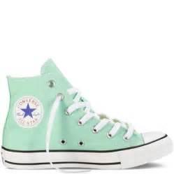 mint colored converse mint green high top converse converse
