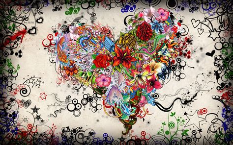 colorful wallpapers of love download wallpaper 1920x1200 colorful heart shaped love