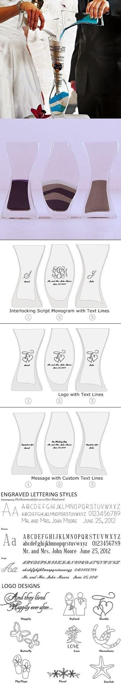 unity nested layout weddingstar customized unity sand ceremony nesting 3 piece